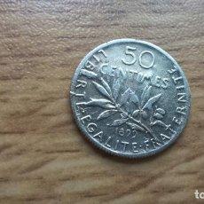 Monedas antiguas de Europa: FRANCIA. 50 CENTIMES DE PLATA DE 1898. Lote 123806851