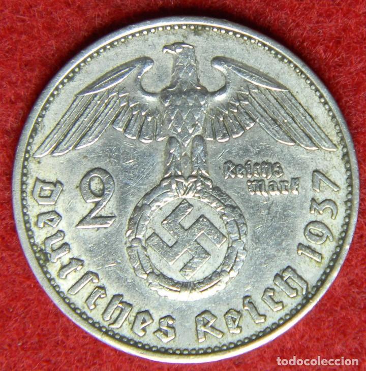 1937 Alemania Deutsche Reich 2 Reichmark Comprar Monedas