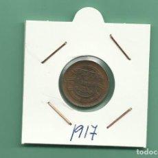 Monedas antiguas de Europa: PORTUGAL 1 CENTAVO 1917. COBRE MBC. Lote 124669231