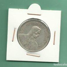 Monedas antiguas de Europa: SUIZA: 5 FRANCS 1935. 15 GRAMOS DE LEY 0,835. Lote 124768079