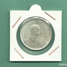 Monedas antiguas de Europa: SUIZA: 5 FRANCS 1969. 15 GRAMOS DE LEY 0,835. Lote 124771831