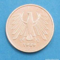 Monedas antiguas de Europa - ALEMANIA. MONEDA DE 5 MARCOS. 1989 J. - 125619079