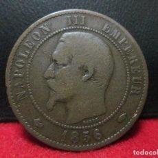 Monedas antiguas de Europa: 10 CENTIMES 1856 NAPOLEON III FRANCIA. Lote 125829263