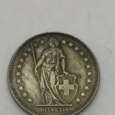 Monedas antiguas de Europa: MONEDA 1 FRANCO SUIZO DE PLATA. Lote 126103204
