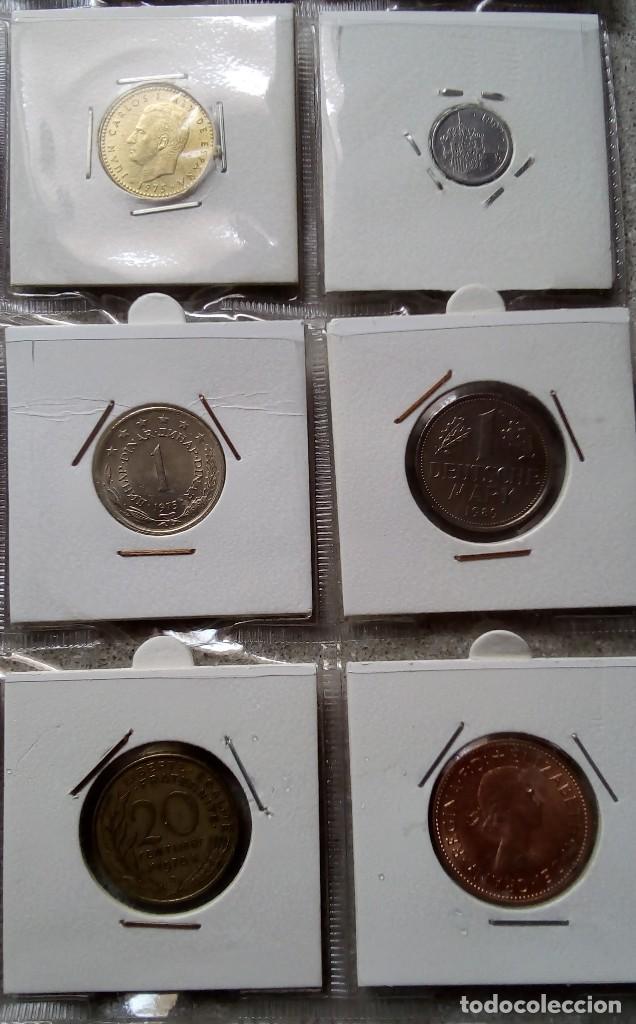 Monedas antiguas de Europa: LOTE 20 MONEDAS ENCARTONADAS CON LA HOJA DE ALMACENAMIENTO DE PLÁSTICO - - Foto 5 - 160905460