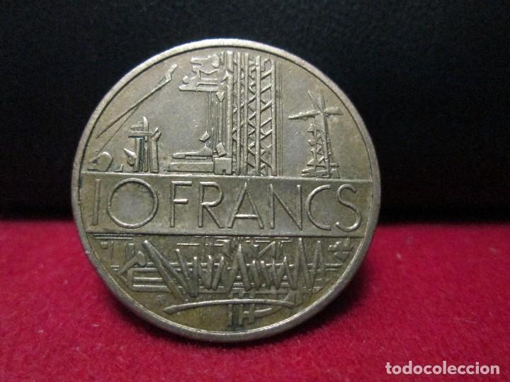 10 FRANCS 1976 REPUBLICA FRANCESA (Numismática - Extranjeras - Europa)