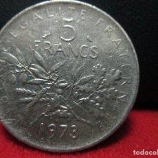 Monedas antiguas de Europa: 5 FRANCS 1973 REPUBLICA FRANCESA. Lote 126746751