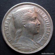Monedas antiguas de Europa: LETONIA 5 LATI 1931 -PLATA-. Lote 126631691