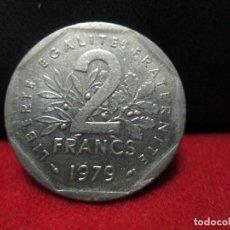 Monedas antiguas de Europa: 2 FRANCS 1979 REPUBLICA FRANCESA. Lote 126883955