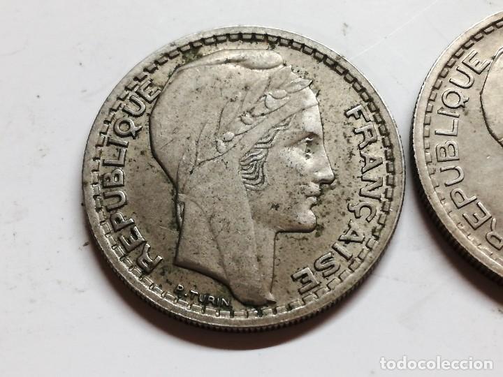 Monedas antiguas de Europa: LOTE 3 MONEDAS FRANCIA - 10 FRANCS 1949 1946 VER FOTOS - Foto 3 - 126983895