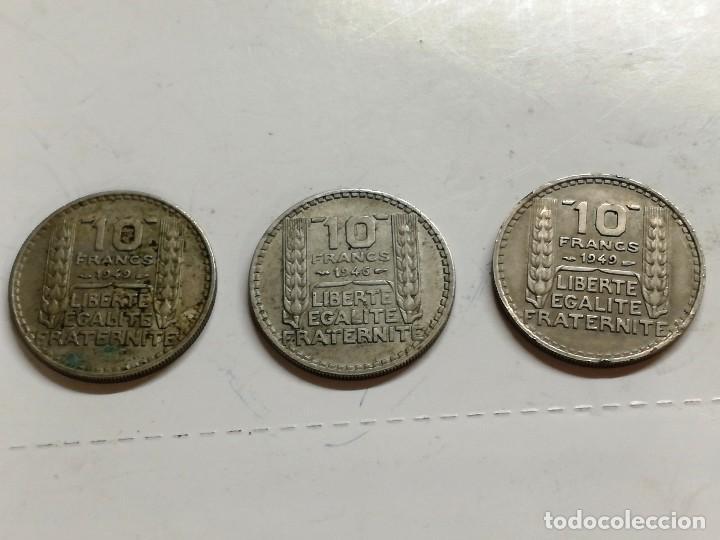 Monedas antiguas de Europa: LOTE 3 MONEDAS FRANCIA - 10 FRANCS 1949 1946 VER FOTOS - Foto 4 - 126983895