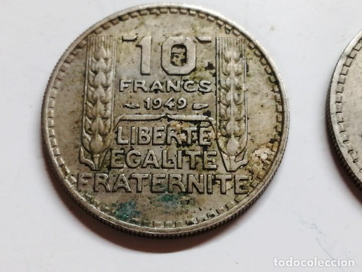 Monedas antiguas de Europa: LOTE 3 MONEDAS FRANCIA - 10 FRANCS 1949 1946 VER FOTOS - Foto 5 - 126983895