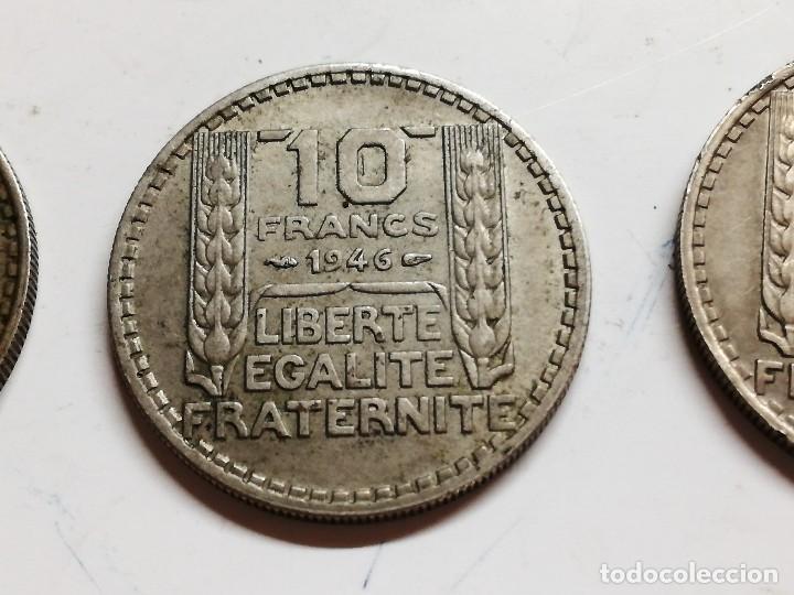 Monedas antiguas de Europa: LOTE 3 MONEDAS FRANCIA - 10 FRANCS 1949 1946 VER FOTOS - Foto 6 - 126983895