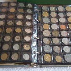Monedas antiguas de Europa: GIGANTESCO ALBUM CON 644 MONEDAS VARIOS PAISES Y ALGUNAS MUY VALIOSAS (TASADO EN 1.430 €). Lote 127645403