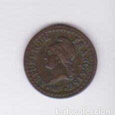 Monedas antiguas de Europa: MONEDAS EXTRANJERAS - FRANCIA - 1 CENTIME L'AN 8(1799-800) A (CU) KM-646 (MBC) . Lote 127821999