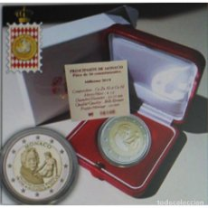 Alte Münzen aus Europa - MONACO 2 euro 2018 proof Aniversario del nacimiento FRANÇOIS JOSEPH BOSIO - 128029415