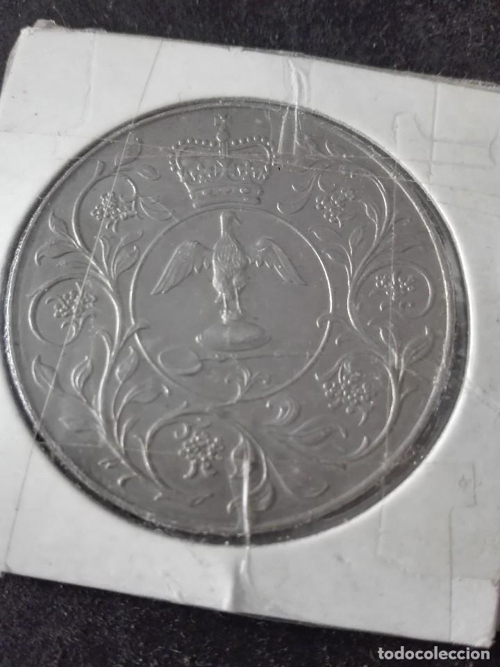 Moneda De Elizabeth Iidgreg Fd 1977 Destacar Comprar Monedas