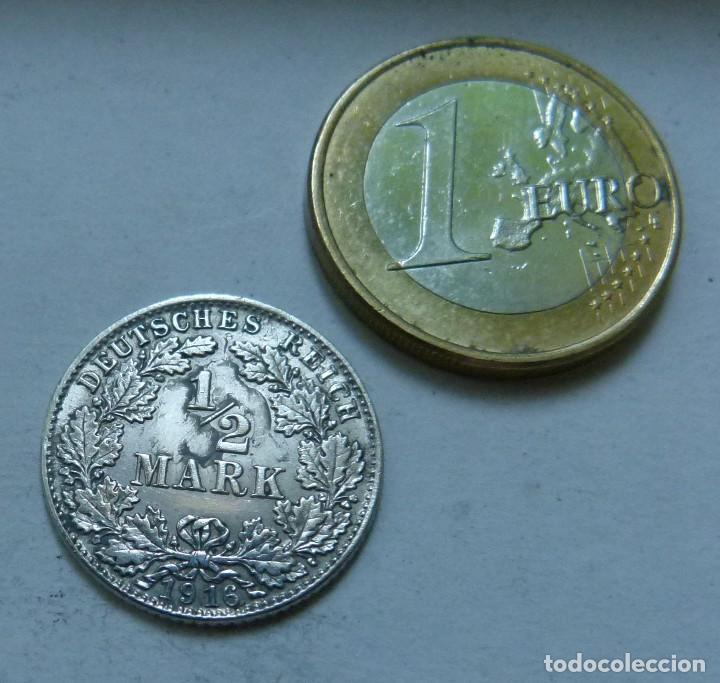 moneda de plata de 1/2 marco del imperio alemán - Comprar Monedas ...