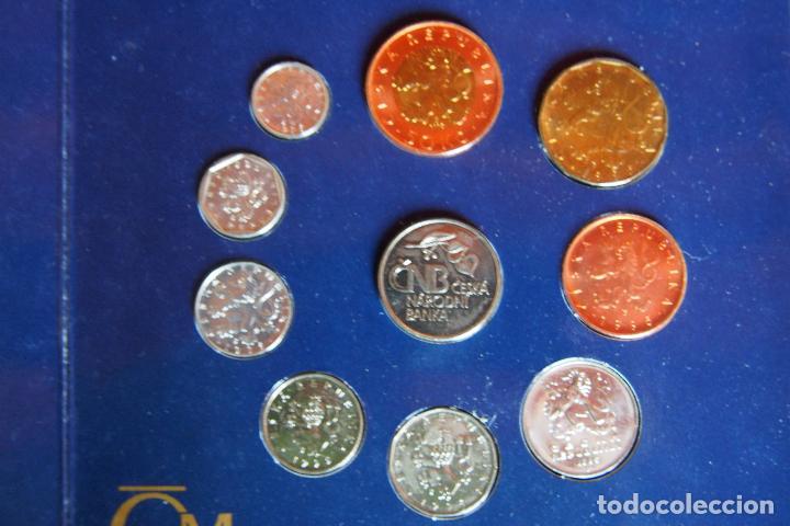 Monedas antiguas de Europa: SET BLISTER MONEDAS REPÚBLICA CHECA. CNB CESKA NÁRODNÍ BANKA. PRAGA. CHECOESLOVAQUIA. 10 MONEDAS - Foto 2 - 128675551