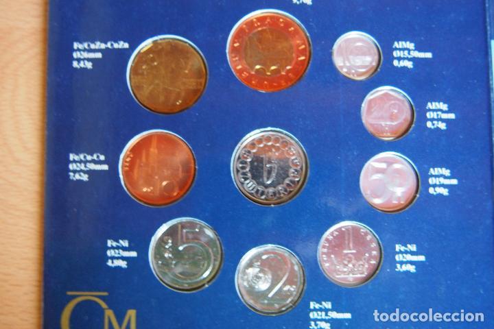 Monedas antiguas de Europa: SET BLISTER MONEDAS REPÚBLICA CHECA. CNB CESKA NÁRODNÍ BANKA. PRAGA. CHECOESLOVAQUIA. 10 MONEDAS - Foto 4 - 128675551