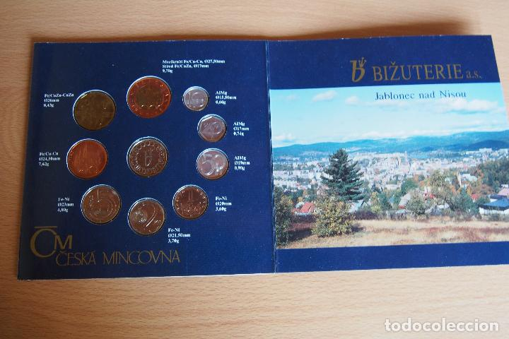 Monedas antiguas de Europa: SET BLISTER MONEDAS REPÚBLICA CHECA. CNB CESKA NÁRODNÍ BANKA. PRAGA. CHECOESLOVAQUIA. 10 MONEDAS - Foto 5 - 128675551