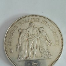 Monedas antiguas de Europa: FRANCIA. 50 FRANCS 1978. MONEDA 50 FRANCOS PLATA SILVER. FRANCE. EBC+. Lote 130339392