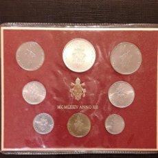 Monedas antiguas de Europa: SET MONEDAS VATICANO 1974 SC. Lote 130426166
