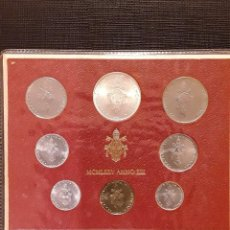 Monedas antiguas de Europa: SET MONEDAS VATICANO 1975 SC. Lote 130426310