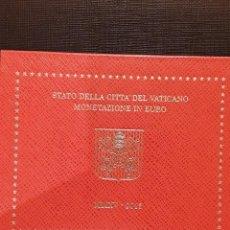 Monedas antiguas de Europa: SET VATICANO EURO 2015 FDC 8 VALORES TIRADA REDUCIDA. Lote 130429966