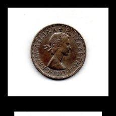 Monedas antiguas de Europa: INGLATERRA HALF CROWN 1961.. Lote 130512006