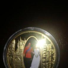 Monedas antiguas de Europa: MONEDA DEL PRÍNCIPE GUILLERMO Y KATE.. Lote 130812787