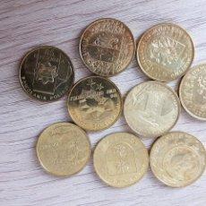 Monedas antiguas de Europa: LOTE DE 9 MONEDAS DE 2 ZLOTY CONMEMORATIVAS. Lote 131362074