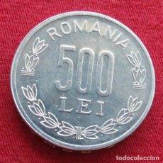 Monedas antiguas de Europa: RUMANIA ROMANIA 500 LEI 1999 UNC. Lote 131532126