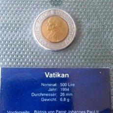 Monedas antiguas de Europa: MONEDA S/C EN BLISTER DEL VATICANO,500 L 1994. Lote 131751846