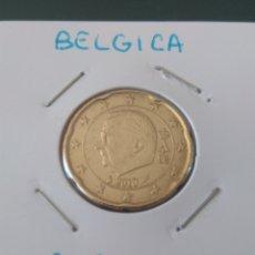 Monedas antiguas de Europa: 20 CÉNTIMOS BÉLGICA 2010. Lote 131791430