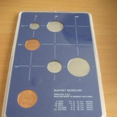 Monedas antiguas de Europa: ESTUCHE MONEDAS FLORINES HOLANDA . Lote 132183954