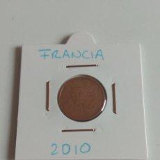Monedas antiguas de Europa: 2 CÉNTIMOS FRANCIA 2010. Lote 132263333