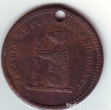 Usado, GRAN BRETAÑA WALSALL UN CENTAVO DE 1811 RARO segunda mano