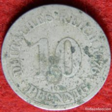 Monedas antiguas de Europa: ALEMANIA – GERMANY – DEUTSCHES REICH – 10 PFENING – 1876 – KRAUSE KM# 4. Lote 132586458