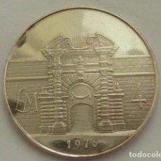 Monedas antiguas de Europa: MONEDA DE PLATA DE 4 LIBRA MALTESA DE 1976 DE MALTA, SOLO 10.000, ESCASA, PLATA DE 987 MM, PESA 20 G. Lote 132596826