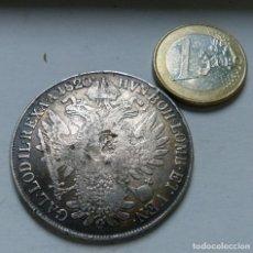 Monedas antiguas de Europa: MONEDA DE PLATA DE 1 THALER DEL EMPERADOR FRANCISCO DE AUSTRIA AÑO 1820. Lote 133437842