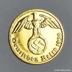 Monedas antiguas de Europa: MONEDA DE ORO ALEMANA 1 PHENNIG 24 K 1939. Lote 133538661