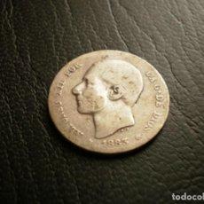 Monedas antiguas de Europa: ESPAÑA 1 PESETA 1883 PLATA. Lote 133771974