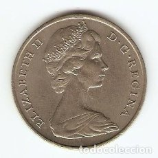 Monedas antiguas de Europa: B33 - GRAN BRETAÑA ELIZABETH II CORONA 1967 GIBRALTAR. Lote 134365278