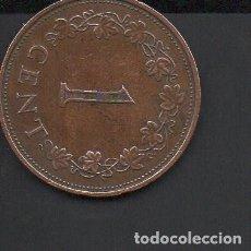 Monedas antiguas de Europa: MALTA, 1 CENT, 1972, 25 MM.. Lote 134365322