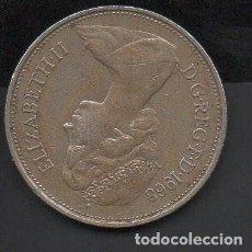 Monedas antiguas de Europa: REINO UNIDO, 10 NEW PENCE, 1968, 26 MM.. Lote 134366406
