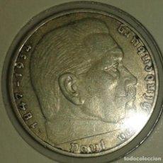 Monedas antiguas de Europa: ALEMANIA NAZI, 2 REICHMARK 1937A. Lote 134429990