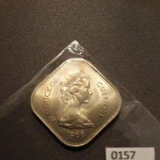 Monedas antiguas de Europa: GUERNSEY 10 CHELINES 1966 ESCASA . Lote 134708922