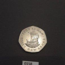 Monedas antiguas de Europa: ISLA DE MAN 50 PENIQUES NUEVOS 1971 ESCASA. Lote 134709654
