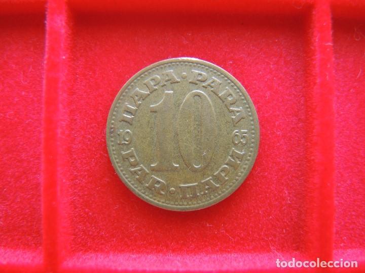10 PARA, YUGOSLAVIA, 1965 (Numismática - Extranjeras - Europa)